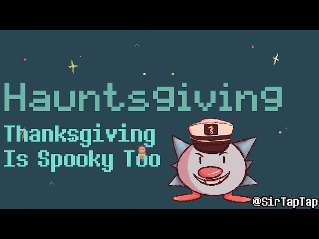 Let's Play Hauntsgiving | Cute Animals have a spooky Thanksgiving
