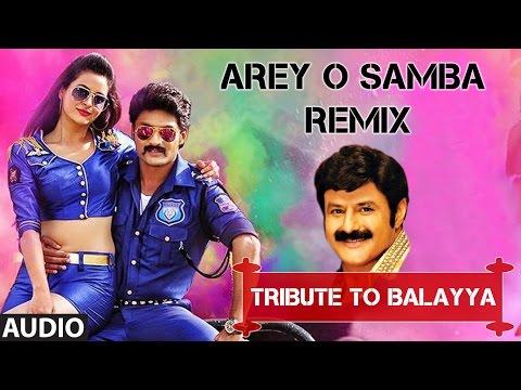 Arey O Samba (Remix) Full Audio Song I Pataas I Nandamuri Kalyan Ram, Shruthi Sodhi