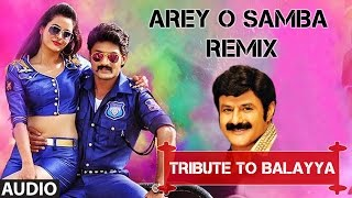 Arey O Samba (Remix) Full Audio Song I Pataas I Nandamuri Kalyan Ram, Shruthi So …