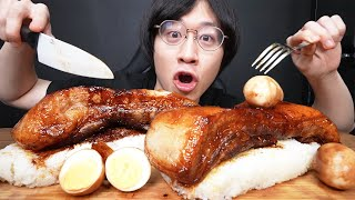 豚丸ごと一本角煮寿司を作って食べたらヤバすぎた...【モッパン】