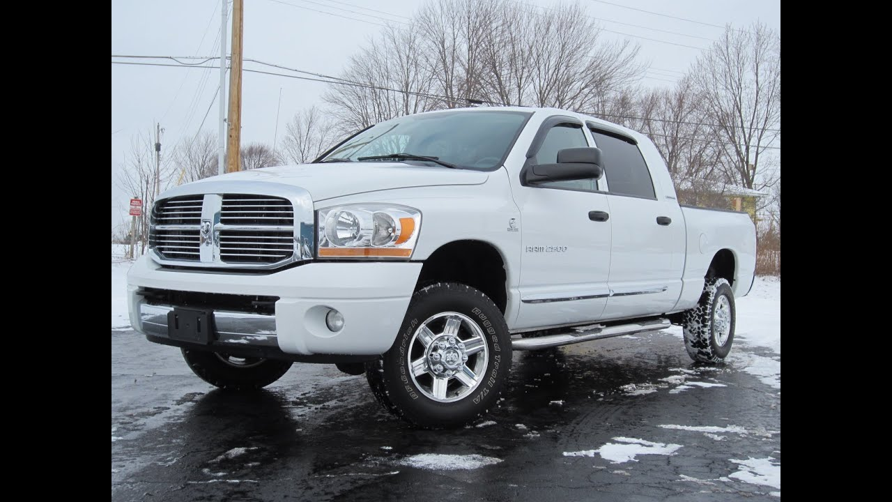 2006 Dodge Ram 2500 Mega Cab Laramie 5 9l Cummins 4x4 Sold
