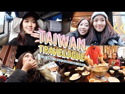 Taiwan Vlog Day 1: Taichung Hotel Tour, Feng Jia Night Market, Smelly Tofu... | thatxxRin