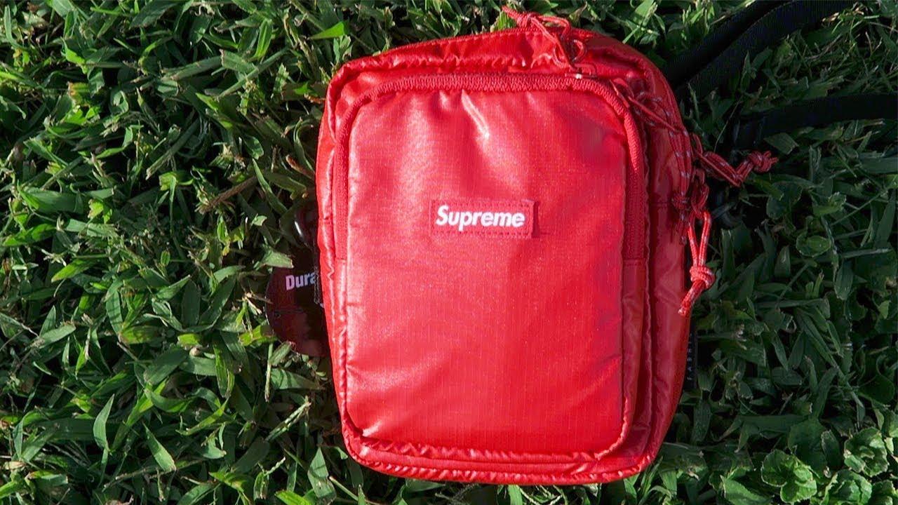Supreme Shoulder Bag Unboxing/Review & Legit Checker (How To Spot