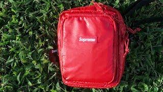 Supreme Shoulder Bag Unboxing Review