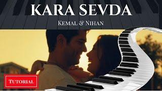 (Piano Tutorial) Kara Sevda dizi muzigi :Toygar Isikli