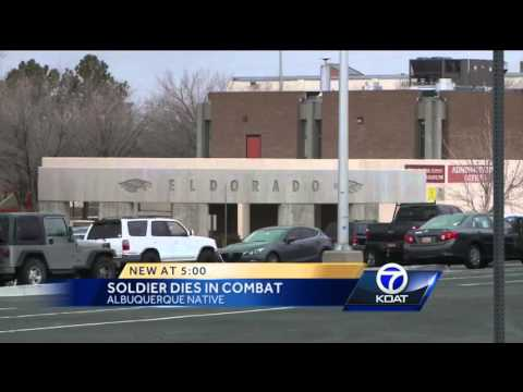 Soldier from New Mexico dies in Afghanistan