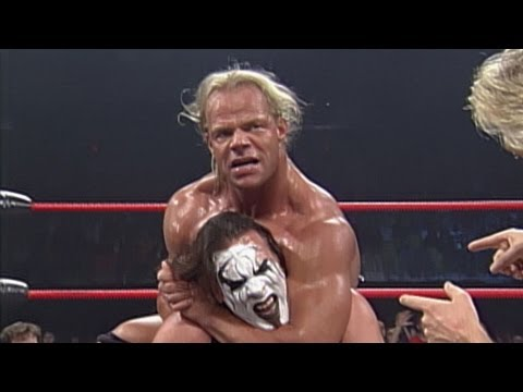 Sting vs. Lex Luger - Lumberjack with Casts Match thumbnail