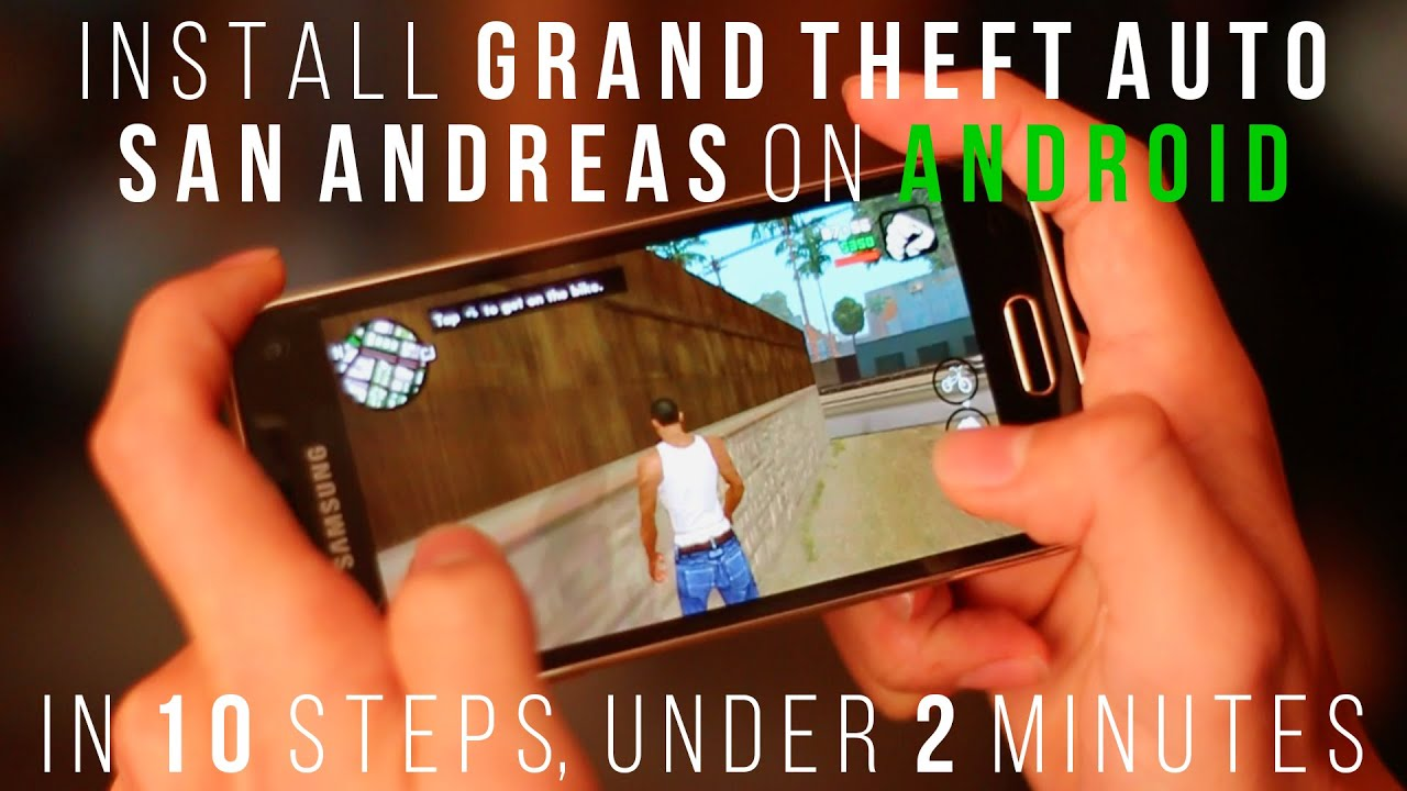 How to install GTA on Android: instructions for beginners