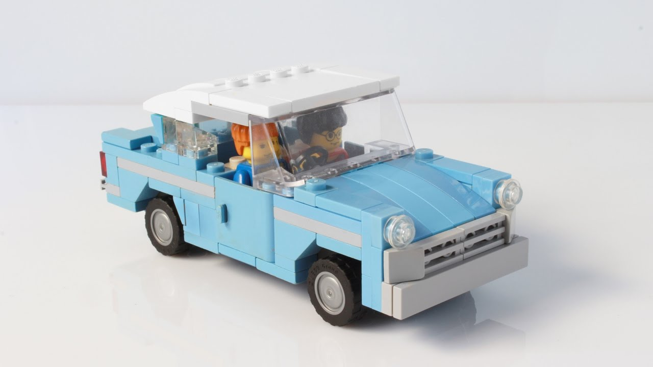 & Weasleyu0027s flying car from Harry Potter with LEGO - YouTube markmcfarlin.com