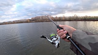 Рыбалка. Ловля Щуки Поздней Осенью на Спиннинг. Ратлин Блесна Джиг.