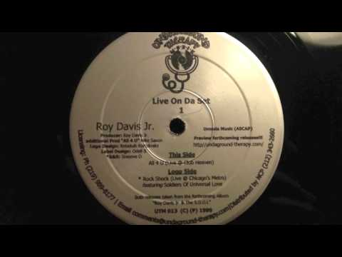 Roy Davis Jr. - All 4 U (live @ Club Heaven)