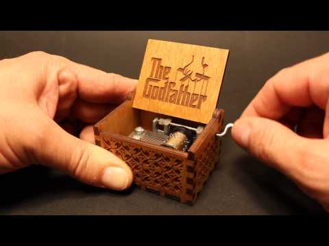 The Godfather Theme - Music box by Invenio Crafts