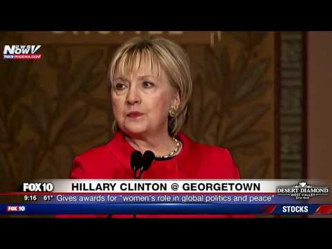 ANOTHER POST-ELECTION APPEARANCE: Hillary Clinton Speaks at Georgetown University (FNN)