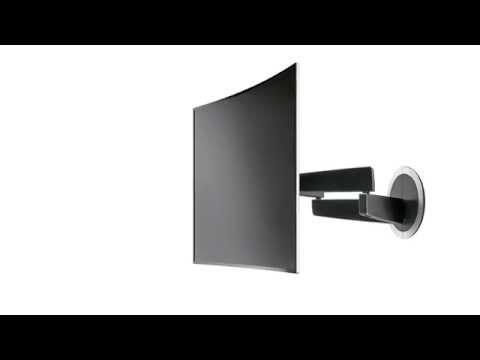Wall mounting samsung curved sound bar hw h7500 doovi for Best tv mounts cnet