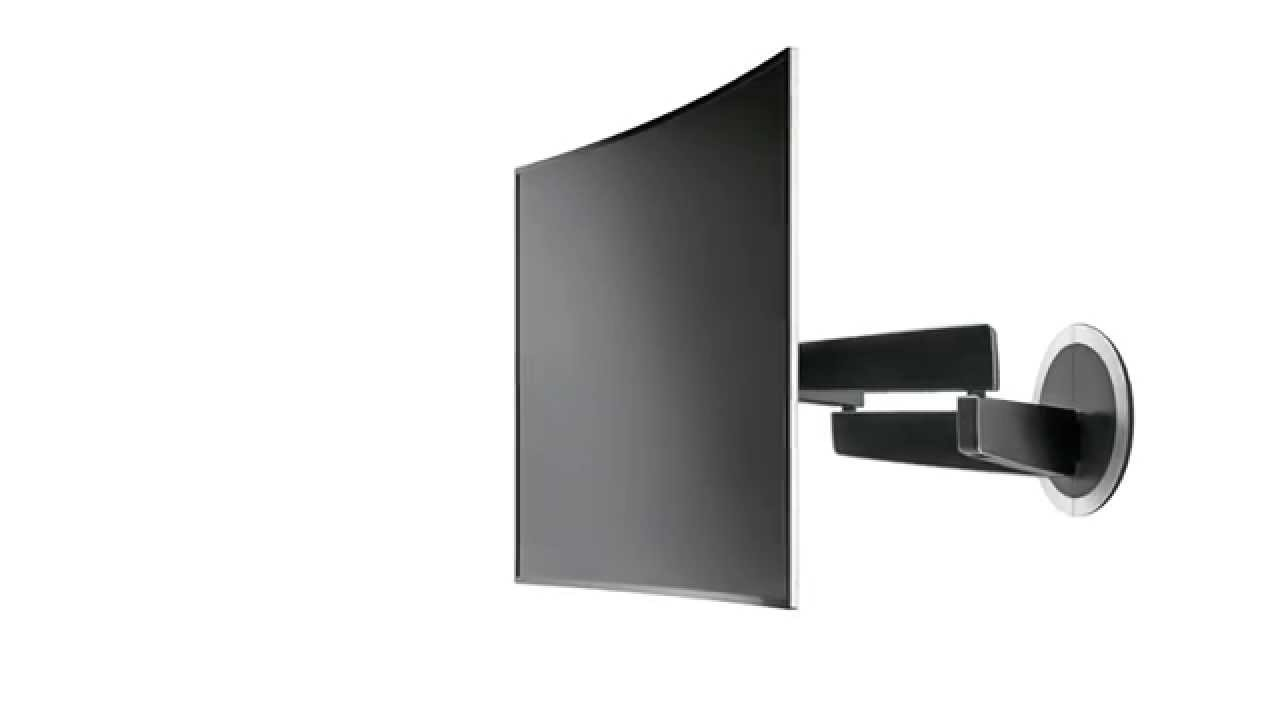 Vogels Wall Mount To Get The Best View From A Curved Tv Youtube