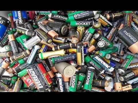 Contaminacion Pilas Y Baterias Youtube