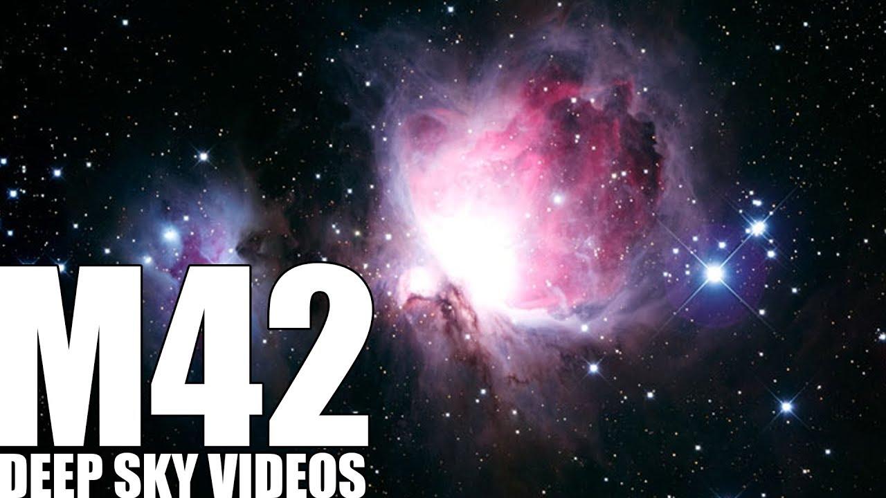 M42 - Orion Nebula - Deep Sky Videos - YouTube