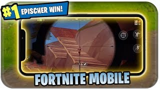 FORTNITE AUF HANDY 📱 ERSTEN WIN HOLEN | Fortnite Mobile Gameplay Deutsch German Download