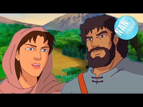 deborah-y-gedeon-|-debora-|-profetas-de-la-biblia-|-antiguo-testamento-|-dibujos-animados-para-niños
