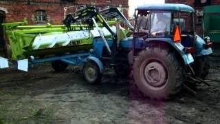 Fortschritt E514, przygotowywanie do Żniwa 2012, CZ 1.wmv