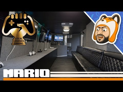 Visiting a Friend's Mobile Gaming Theater - Local Legends Gaming Store Tour & Interview!