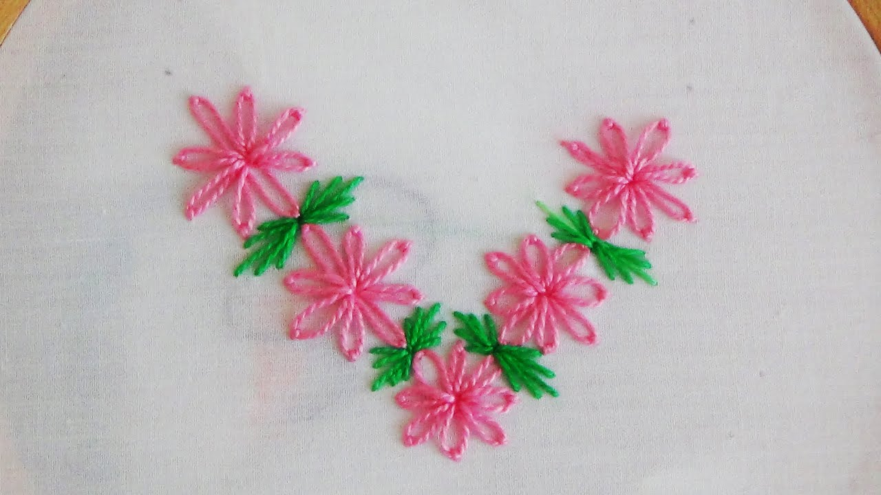 Simple hand embroidery designs for tablecloth - Simple Hand Embroidery Designs For Tablecloth 53