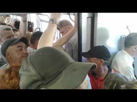 День России: давка в поезде Калининград - Зеленоградск
