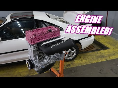 The Mr2 Almost has An Engine Again!