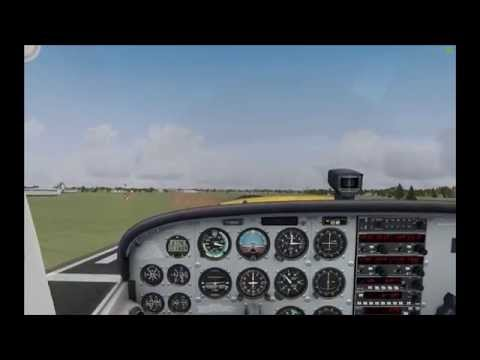 FSX: VFR Flight (with Preflight & ATC)