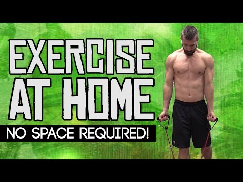How to Exercise at Home (No Excuses!)