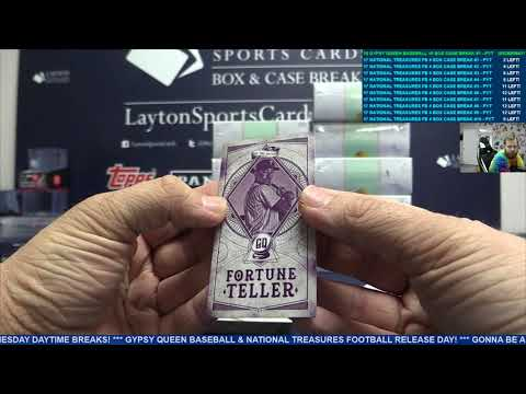 2018 Topps Gypsy Queen Baseball Hobby 10 Box Case Break #1 – PICK YOUR TEAM