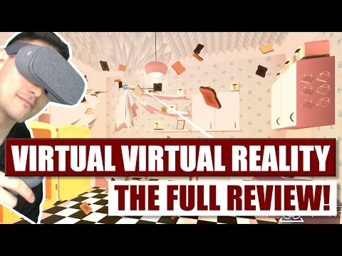 The Best Daydream Game So Far? Here is the Virtual Virtual Reality Review for Google Daydream VR