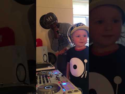 3 year old DJ Archie (Worlds youngest UK Garage DJ along side MC NEAT