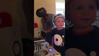 3 year old DJ Archie (Worlds youngest UK Garage DJ along side MC NEAT
