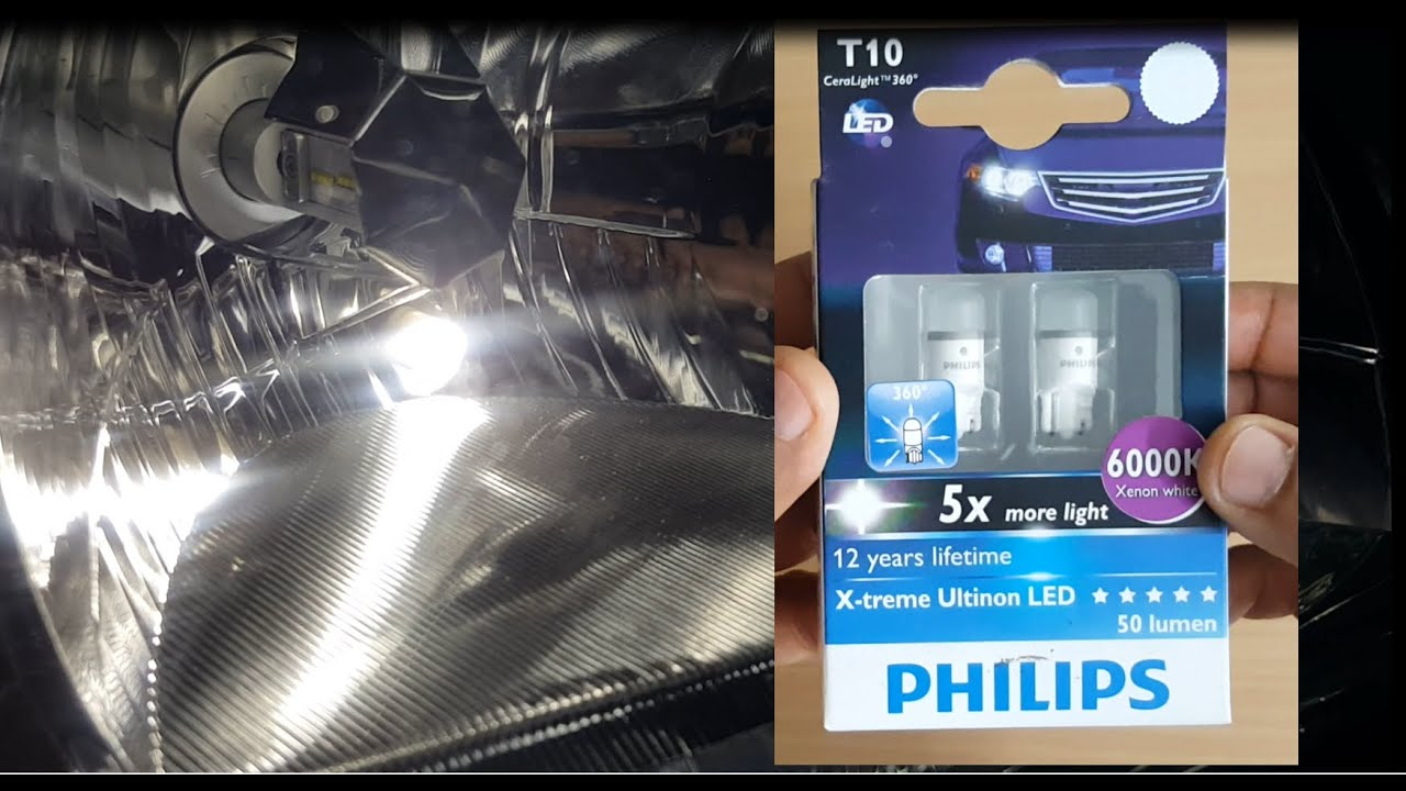 T10 Light Bulb Led