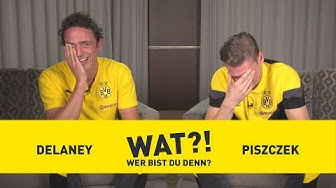 """Farting champion?!?!""   Who am I?   BVB-Challenge with Thomas Delaney & Lukasz Piszczek"