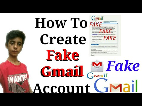 How to Create fake gmail account without Phone Number And