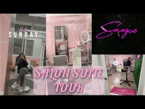MY NEW SALON SUITE TOUR!