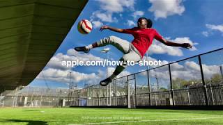 iPhone X — How to shoot Burst mode on iPhone X