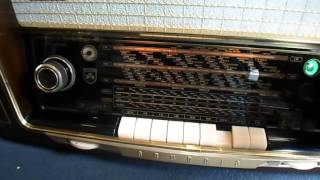 GRUNDIG 3055 56 3D KLANG Röhrenradio