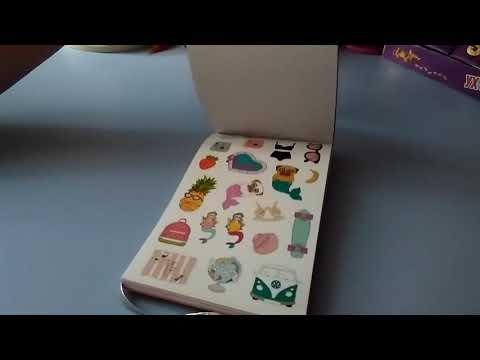 «Обзор книги с наклейками Chicardi City Girl Chic из Rozetka»