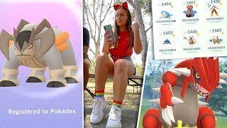 10 WEEKS WITHOUT THIS!? New Pokédex Terrakion & Movember PVP Comp! [Pokémon GO]