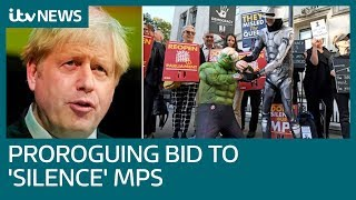 PM's prorogation was to 'silence' Parliament, Supreme Court told | ITV News