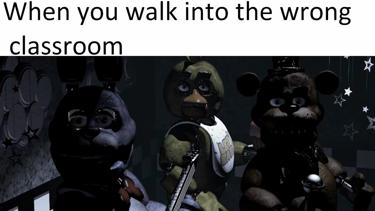FNAF memes that will make all fans laugh