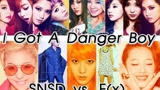 SNSD vs. F(x) - I Got A Danger Boy (MashUp)