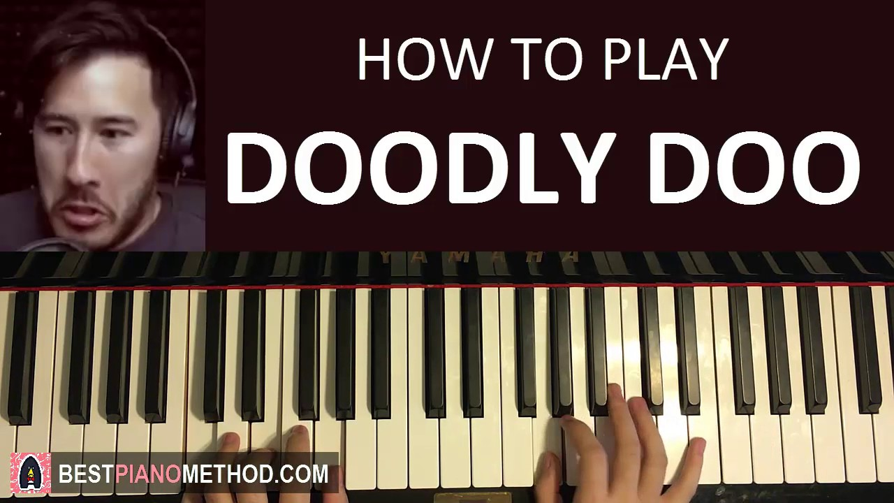 How to play markiplier doodly doo piano tutorial for Doodly free