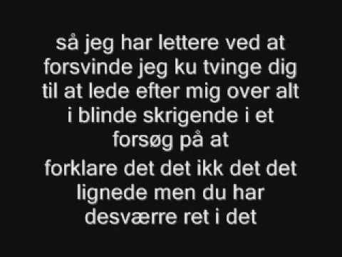 selvmord - råbe under vand lyrics video