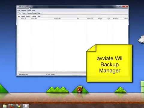 Trasferire giochi Wii da partizione WBFS in partizione FAT32