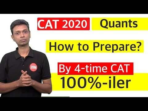 How to prepare for the Quants Section