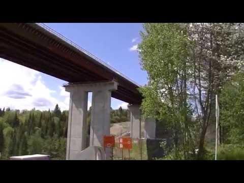 Pont autoroute 73 Notre-Dame-des-Pins